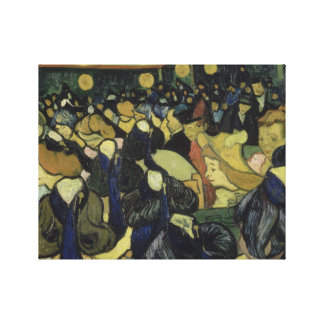 Vincent van Gogh - The Dance Hall in Arles Canvas Print