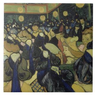 Vincent van Gogh - The Dance Hall in Arles Tile