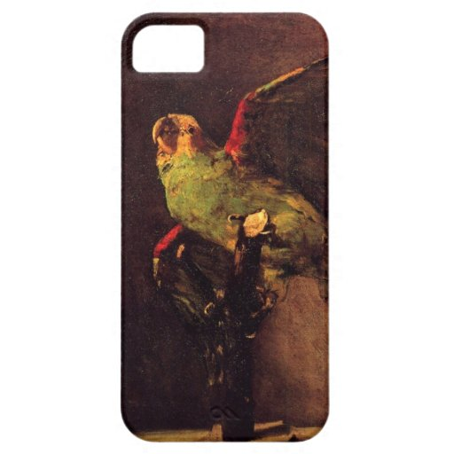 Vincent Van Gogh The Green Parrot iPhone 5 Covers