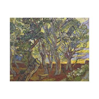 Vincent van Gogh - The Harvest (for Emile Bernard) Canvas Print
