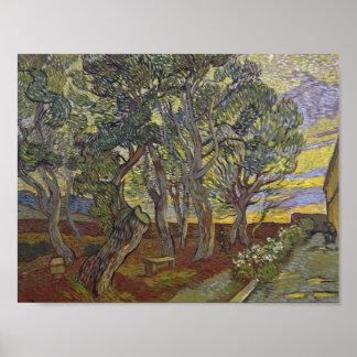 Vincent van Gogh - The Harvest (for Emile Bernard) Poster