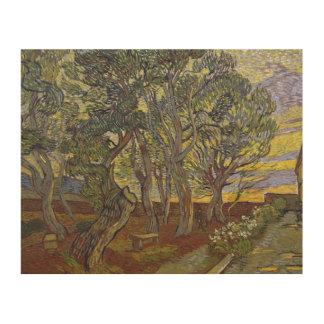 Vincent van Gogh - The Harvest (for Emile Bernard) Wood Print