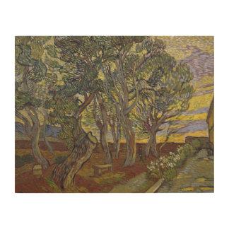 Vincent van Gogh - The Harvest (for Emile Bernard) Wood Wall Art