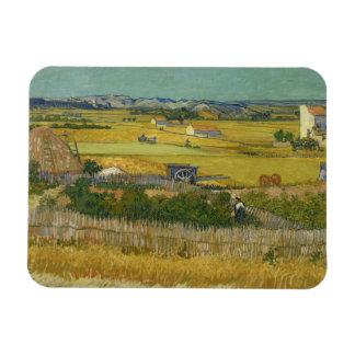 Vincent van Gogh - The Harvest Rectangular Photo Magnet