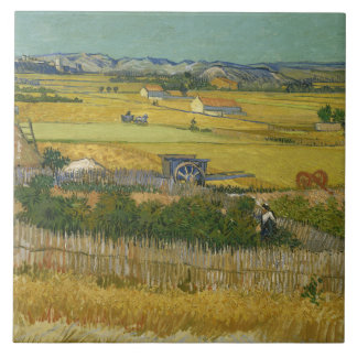Vincent van Gogh - The Harvest Tile