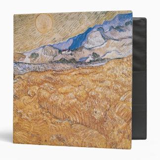 Vincent van Gogh | The Harvester 3 Ring Binder
