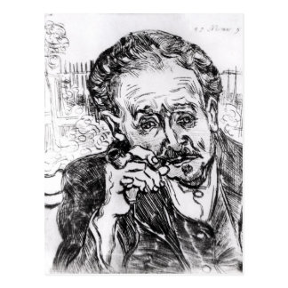 Vincent van Gogh | The Man with the Pipe Postcard