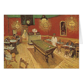Vincent van Gogh The Night Cafe Card