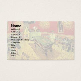 Vincent Van Gogh - The Night Cafe Fine Art Business Card