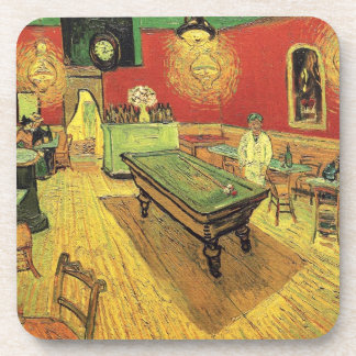 Vincent Van Gogh - The Night Cafe Fine Art Drink Coaster