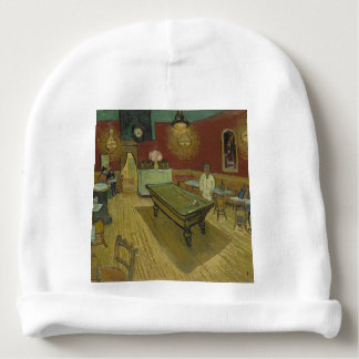 Vincent Van Gogh The Night Cafe Painting Art Work Baby Beanie