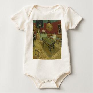 Vincent Van Gogh The Night Cafe Painting Art Work Baby Bodysuit