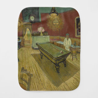Vincent Van Gogh The Night Cafe Painting Art Work Burp Cloth