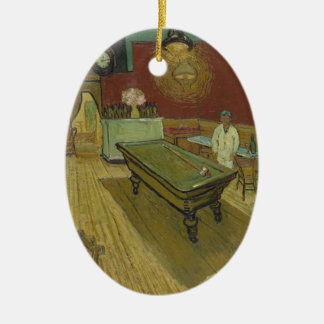 Vincent Van Gogh The Night Cafe Painting Art Work Ceramic Ornament