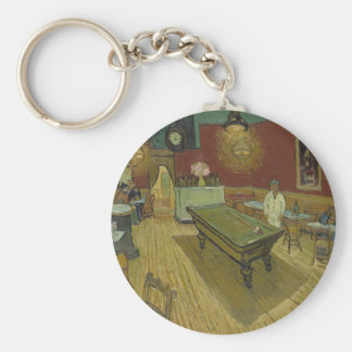 Vincent Van Gogh The Night Cafe Painting Art Work Keychain
