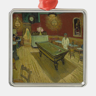 Vincent Van Gogh The Night Cafe Painting Art Work Metal Ornament