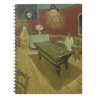 Vincent Van Gogh The Night Cafe Painting Art Work Notebook