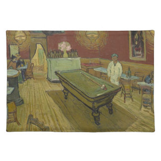 Vincent Van Gogh The Night Cafe Painting Art Work Placemat