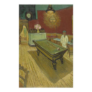 Vincent Van Gogh The Night Cafe Painting Art Work Stationery