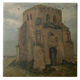 Vincent van Gogh - The Old Church Tower at Nuenen Tiles