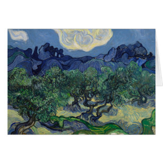 Vincent van Gogh - The Olive Trees Card