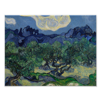 Vincent van Gogh - The Olive Trees Poster