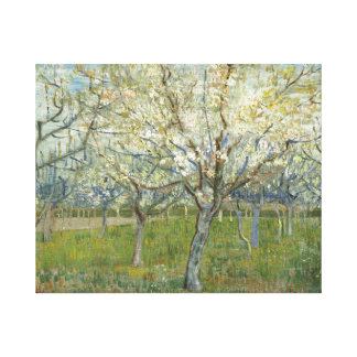 Vincent van Gogh - The Pink Orchard Canvas Print