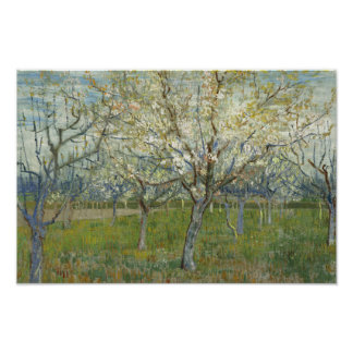 Vincent van Gogh - The Pink Orchard Poster