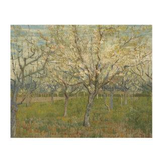 Vincent van Gogh - The Pink Orchard Wood Wall Art