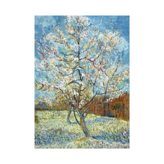 Vincent van Gogh The Pink Peach Tree Canvas Print