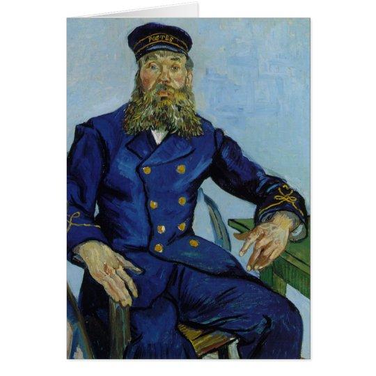 Vincent van Gogh The Postman Joseph Roulin Card