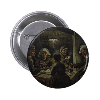 Vincent Van Gogh - The Potato Eaters 2 Inch Round Button