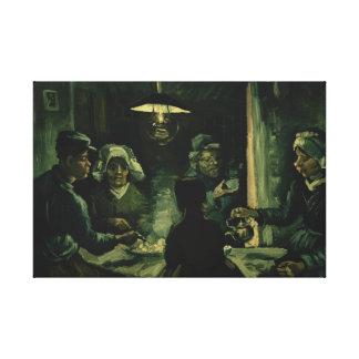 Vincent van Gogh - The Potato Eaters Canvas Print