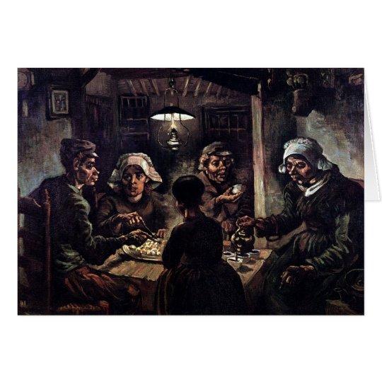 Vincent Van Gogh - The Potato Eaters Fine Art Card