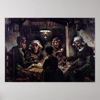 Vincent Van Gogh - The Potato Eaters Fine Art Poster