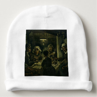 Vincent Van Gogh The Potato Eaters Painting. Art Baby Beanie
