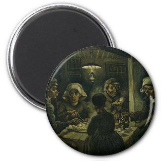 Vincent Van Gogh The Potato Eaters Painting. Art Magnet