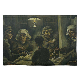 Vincent Van Gogh The Potato Eaters Painting. Art Placemat