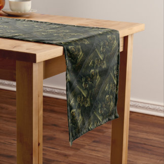 Vincent Van Gogh The Potato Eaters Painting. Art Short Table Runner