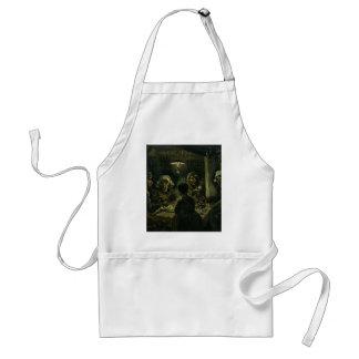 Vincent Van Gogh The Potato Eaters Painting. Art Standard Apron