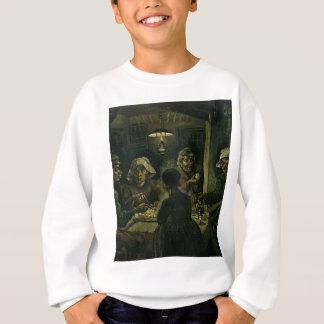 Vincent Van Gogh The Potato Eaters Painting. Art Sweatshirt