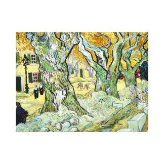 Vincent van Gogh The Road Mender Canvas Print