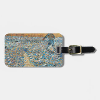 Vincent Van Gogh The Sower Painting Art Luggage Tag