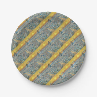 Vincent Van Gogh The Sower Painting Art Paper Plate