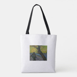 Vincent Van Gogh - 'The Sower' Tote Bag.