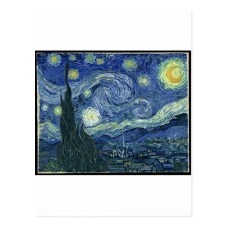 Vincent Van Gogh - The Starry Night (1889) Postcard