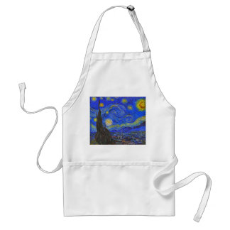 Vincent van Gogh - The Starry Night (1889) Standard Apron