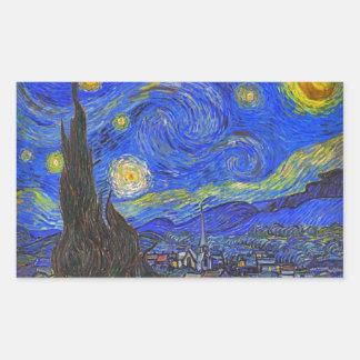Vincent van Gogh - The Starry Night (1889) Sticker
