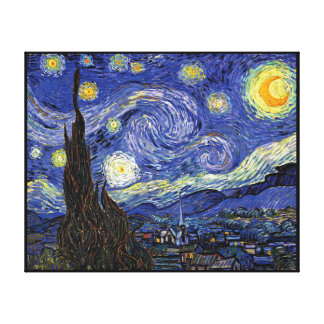Vincent Van Gogh - The Starry Night Extra Large Canvas Print
