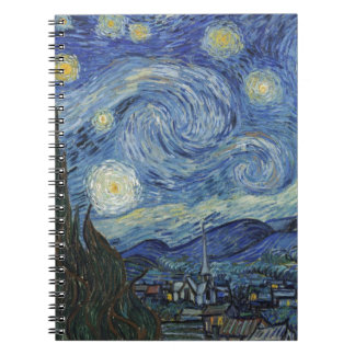 Vincent van Gogh | The Starry Night, June 1889 Notebook